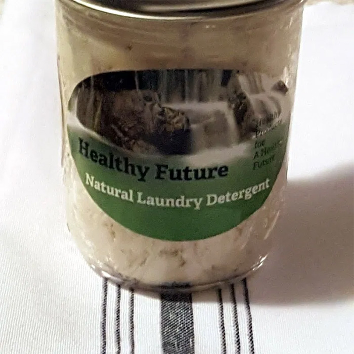 healthy future laudry detergent