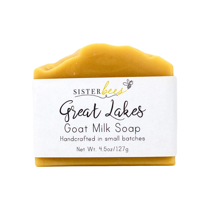 sister bees honey soap