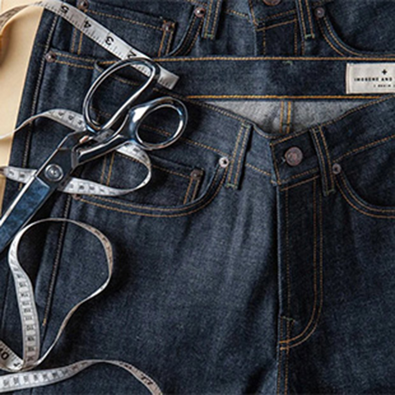 american traditional jeans production