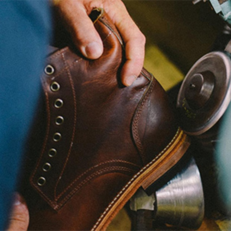 american traditional shoe production